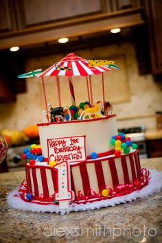 little one's circus birthday party