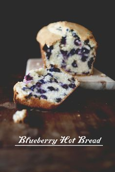 Blueberry Hot Bread | The Kitchy Kitchen