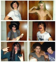 5 idiots i Fell in love with