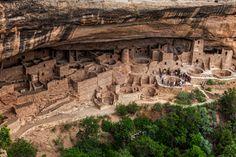 Cliff Palace, Mesa Verde, Colorado