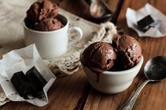 Chocolate (Dairy-Free) Ice Cream   Flickr