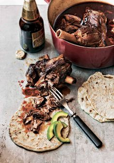 Slow cooked lamb shanks, Slow cooked lamb and Red wine sauces on ...