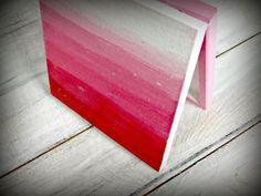 Pudełka Ombre - kolejny post hand made! Plastic Cutting Board, Decoupage, Handmade, Hand Made, Handarbeit