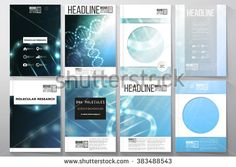 Brochure Layout DNA Stock Photos, Images, & Pictures | Shutterstock