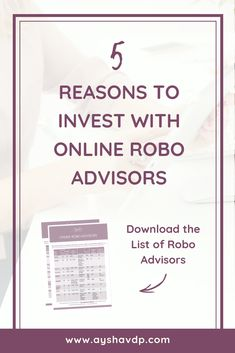 Wondering how to start investing? Online robo advisors are a godsend for beginner investors. You can open an account in just a few minutes to start investing. Investing In Stocks, Investing Money, Wealth Management, Money Management, Investing For Retirement, Investment Portfolio, Lost Money, Financial Literacy, Money Tips