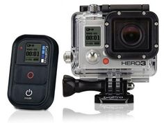 GoPro Hero 3 Video Cameras great video cameras for all sports.
