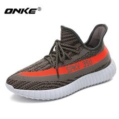 Spky 350Sneakers  Men Running Shoes Breathable Flyknit Women Sneaker Lightweight Men Sport Shoes Comfortable Outdoor Zapatillas  #Affiliate