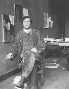 Amedeo Clemente Modigliani (July 12, 1884 - January 24, 1920) was an Italian artist of Jewish heritage, practicing both painting and sculpture, who pursued his career for the most part in France. Modigliani was born in Livorno (historically referred to in English as Leghorn), in Northwestern Italy and began his artistic studies in Italy before moving to Paris in 1906.