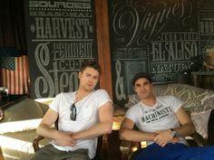 Chord and Darren.
