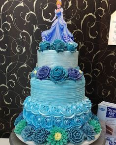 Baby Birthday Cakes, 7th Birthday, Love Craft, Food N, Cakes And More, Amazing Cakes, Cake Decorating, Princess Cakes, My Love