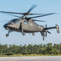 New S-97 Raider helicopter