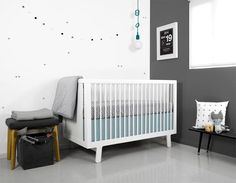 crib bedding from olli + lime