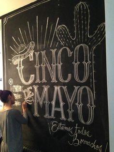 cinco de mayo chalkboard - Google Search