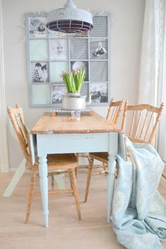 love the table Dining Room Design, Dining Room Table, Dining Area, Modern Furniture, Home Furniture, Pastel House, Decoration, Furniture Makeover, Sweet Home