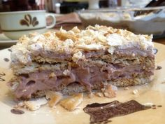 Torta Banoffee, Chocolates, Cream Crackers, Stevia, Food And Drink, Pie, Sweet, Recipes, Smart Cookie