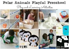 Polar Animal Activities for Preschool #sciencepenguin #science #penguin #polar #bears