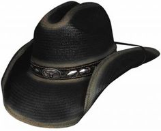 Bullhide Cowboy Hats with edgy rodeo attitude create a western hat for all your needs, shapeable cowboy hat brim, longhorn concho, Shantung Panama straw cowboy hat Cowboy Hats For Sale, Kids Cowboy Hats, Western Cowboy Hats, Cowgirl Hats, Western Wear, Western Hat Styles, Panama, Banana Republic, Leather Hats