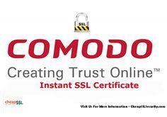 66% Savings - #Comodo Instant #SSL certificate at $22.10. #security