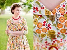 Mode de Lis: · A New Wardrobe Staple ·(such a gorgeous and fun dress!)