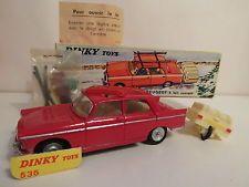 Dinky Toys 404 Peugeot + accessoires  Originale ref 536
