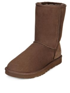 Classic Short Boots - Chocolate, http://www.very.co.uk/ugg-australia-classic-short-boots-chocolate/1112079704.prd