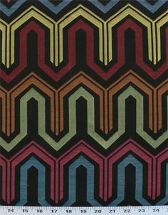 Squiggle Black Pearl | Online Discount Drapery Fabrics and Upholstery Fabric Superstore!