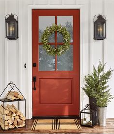 Joanna Gaines Magnolia collection at Target (red front door, holiday and Christmas decorating)