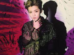 Luhan, displayed on Ninagawa Mika's photography exhibition