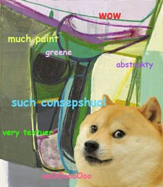 An ongoing collection of art related memes Art Memes, I Laughed, Contemporary Art, Teaching, Doge, Cats, Funny, Fun Stuff, Painting