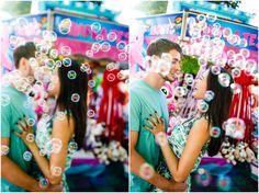 Sara & Brad {State Fair} | engagement photos