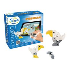 Gigo 39PCS 3 Birds' Models DIY Pelican Creative Building Blocks Toys WORLD LIFE Series Smart Bricks Juguetes #7258 //Price: $US $18.00 & FREE Shipping //     #toyz24