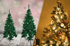 4 or 5ft Artificial Christmas Tree