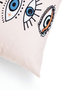 Product name: Eye Print Cushion Cover at SHEIN, Category: Decorative Pillows Scandinavian Style, Contemporary Fabric, Walk In, Printed Cushions, Decoration, Fashion Prints, Cushion Covers, Free Gifts, Shopping Bag