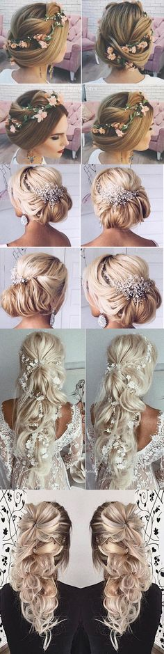 Top 25 Ulyana Aster Wedding Hairstyles / http://www.deerpearlflowers.com/ulyana-aster-wedding-hairstyles/
