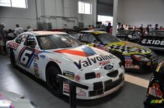 Roush Racing Valvoline Racing #6 Ford Thunderbird, driven by Mark Martin