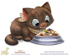 Daily Paint Avacato by Piper Thibodeau on ArtStation. Cute Food Drawings, Cute Animal Drawings, Kawaii Drawings, Cute Fantasy Creatures, Cute Creatures, Mon Zoo, Animal Puns, Animal Food, Creature Drawings