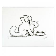 Simon's Cat | Simon's Cat 'Feed Me' Limited Edition Print