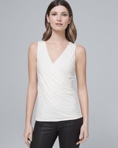 Beaded Surplice Tank
