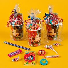 Kid Party Favors, Birthday Favors, 3rd Birthday, Birthday Parties, Mini Mouse, Baby Party, Peppa Pig, Party Time, Mickey Mouse