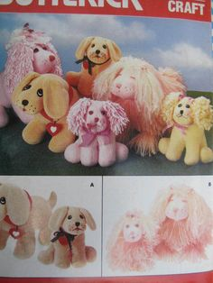 SeeSallySew.com - Dog Cool Patterns, Vintage Patterns, Sewing Patterns, Costume Patterns, Cross Stitch Patterns, Dogs And Puppies, Doll Clothes, Teddy Bear, Unisex