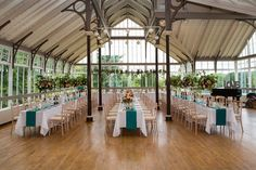 Wedding venue: The Winter Gardens in Hexham. Click on the image to see the full gallery of this Real Wedding: A Relaxed Celebration in Northumberland with Flawless Floral Arrangements