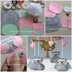 DIY Nursery Owl Mobile!!! Can anyone help me make this!!  Her nursery is owls! My wittle bird :)