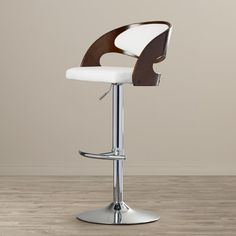 Found it at AllModern - Adjustable Height Swivel Bar Stool