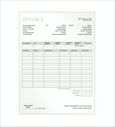 free printable auto repair invoice free printable invoice