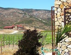 Las Nubes winery has a spectacular view of the wine country.