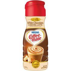 Sounds amazing...  Nestle Coffee-mate White Chocolate Caramel Latte Liquid Coffee Creamer, 16 fl oz