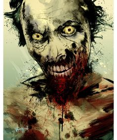 Fresh From The Dairy: Halloween Horror Photo: UNDEAD by Fresh Doodle - JP Valderrama #walkingdead