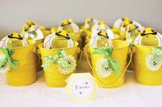 Image detail for -Modern Bumble Bee Birthday Party // Hostess with the Mostess® Bee Party Favors, Bumble Bee Birthday, Mommy To Bee, 2nd Birthday Parties, Birthday Ideas, Theme Parties, Happy Birthday, Bee Theme, Deco Table