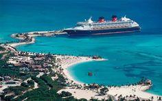 Disney Wonder at Castaway Cay
