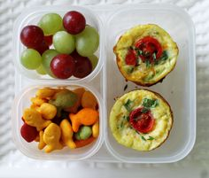 Back To School Easy Lunch Box Solution: Spinach, Tomato, Turkey and Queso Fresco Mini Quiches Mini Quiches, Quick Recipes, Baby Food Recipes, Healthy Recipes, Healthy Food, Easy Lunch Boxes, Boite A Lunch, Batch Cooking, Cold Meals